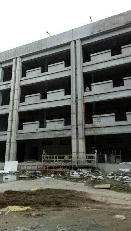 渭南学校GRC方柱工程